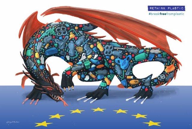 Campaña de Greenpeace contra los plásticos