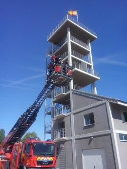 Autoescala de bomberos