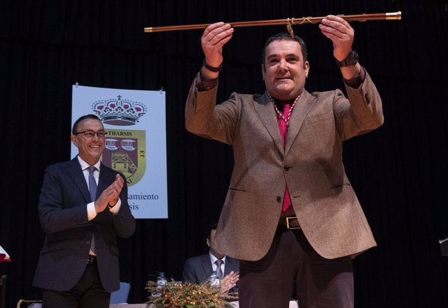 El alcalde de Tharsis, Lorenzo Gómez.