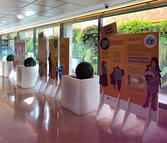 Exposición sobre las migraciones en Hospital Quirónsalud Sagrado Corazón