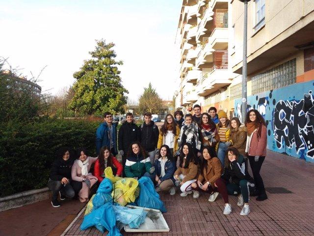 Alumnos participantes en el programa 'Aulas LIBERA'