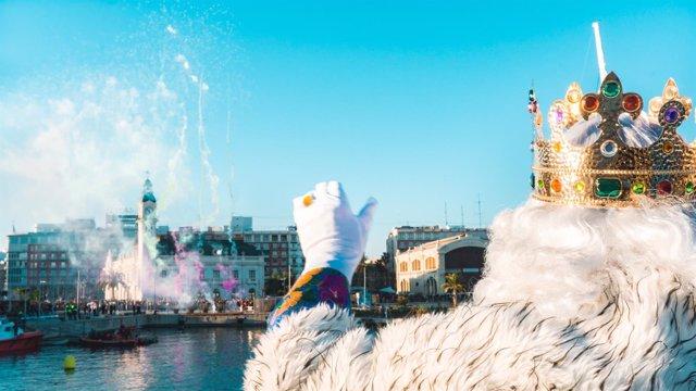Reyes Magos en La Marina de València