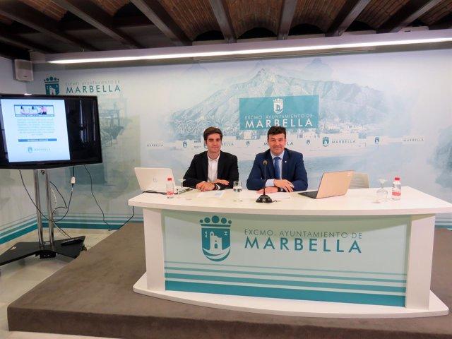 Cristobal Garre, edil de Marbella,