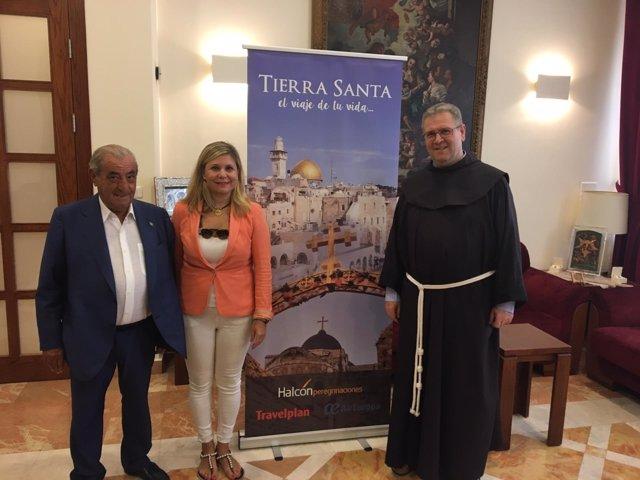 El presidente de Globalia visita Tierra Santa