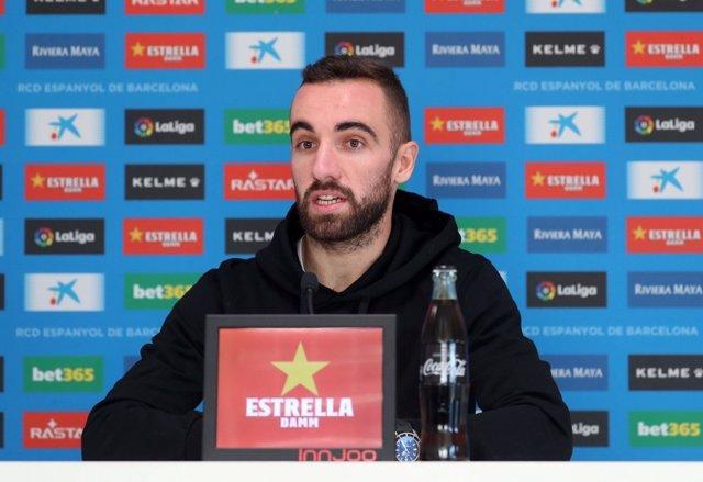 El jugador del RCD Espanyol Sergi Darder