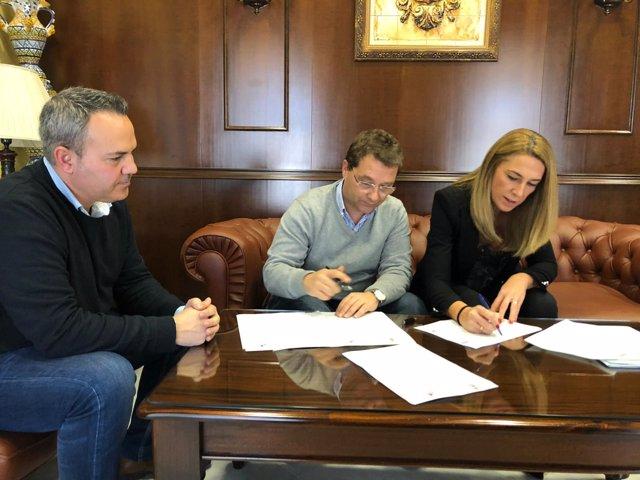 Convenio entre UPTA Andalucía y el Ayuntamiento de Andújar