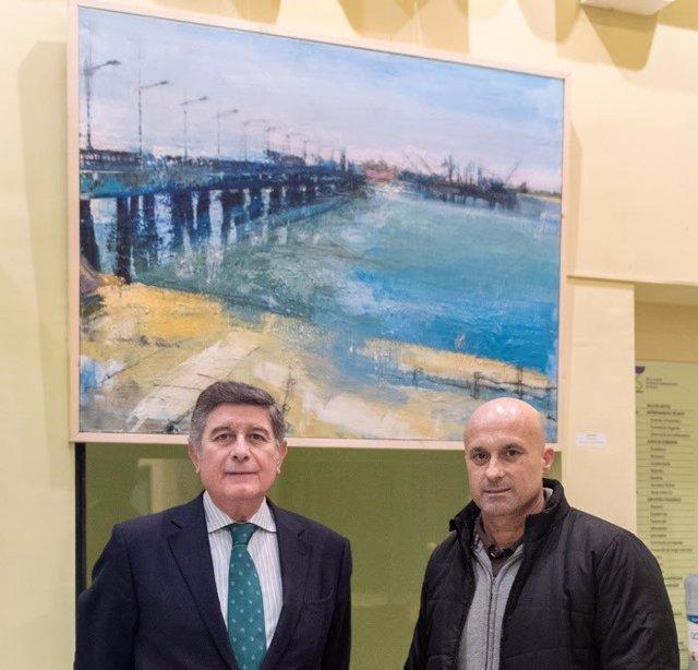 Exposición de pinturas en el Colegio de Farmacéuticos de Sevilla