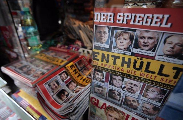 Portada de 'Der Spiegel' tras la filtración de WikiLeaks (Archivo)