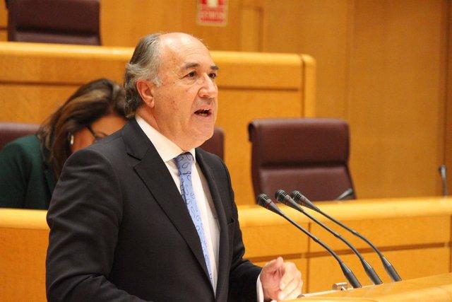 José Ignacio Landaluce en el Senado