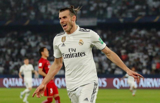 Gareth Bale celebra un hattrick en el Mundial de Clubes