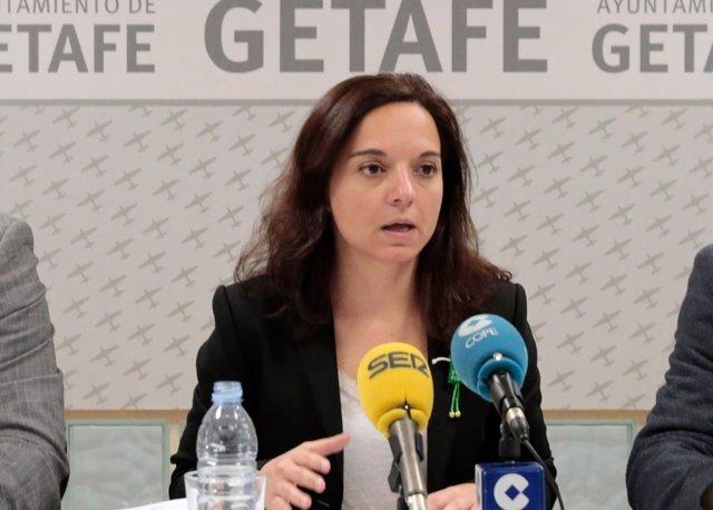 La alcaldesa de Getafe, Sara Hernández