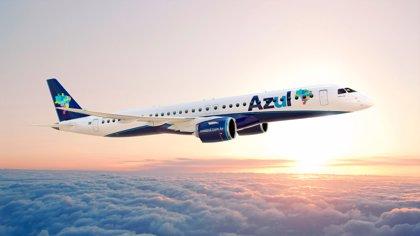 La aerolínea brasileña Azul firma con Embraer un pedido de 21 aviones