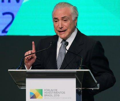 La fiscal general de Brasil imputa a Michel Temer por corrupción pasiva y blanqueo de dinero