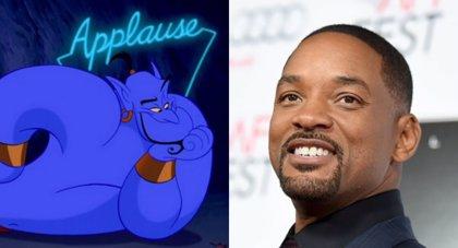 Will Smith responde a las críticas: El Genio de Aladdín será azul