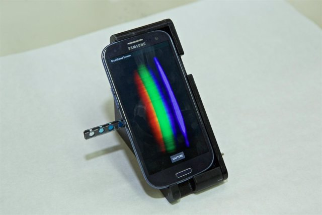 Análisis químico con un smartphone