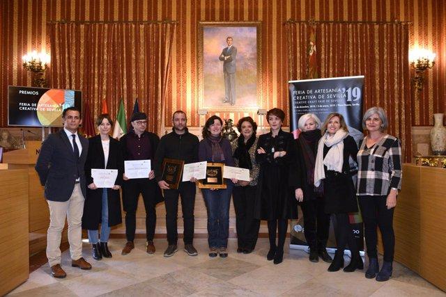Ayuntamiento entrega los Premios de la Feria de Artesanía Creativa