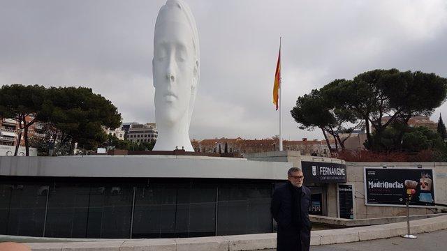 c1d93962 Jaume Plensa exposa l'escultura de 12 metres 'Julia' a Madrid:
