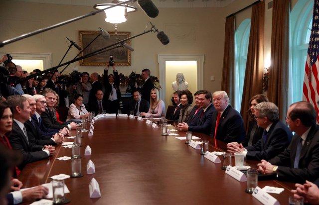 Gabinete del presidente de EEUU, Donald Trump.