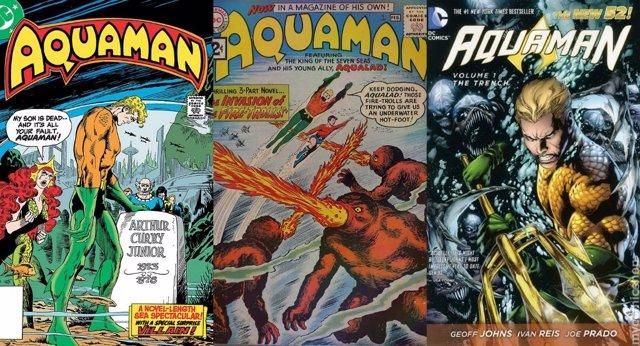 Portada cómics Aquaman