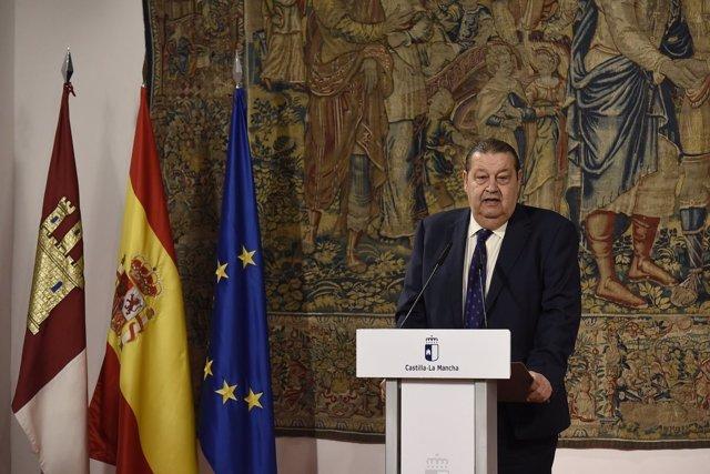 Jesús Fernández Vaquero, presidente de las Cortes