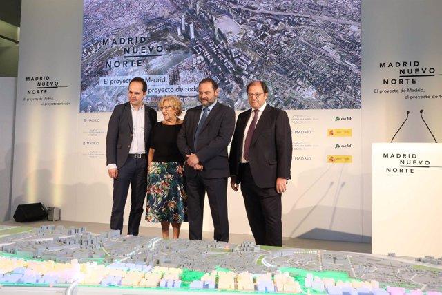 Presentación del proyecto de Madrid Nuevo Norte