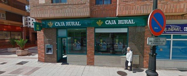Oficina Caja Rural de Asturias atracada