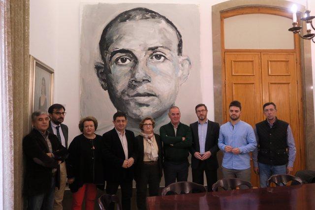 Reunión de la Fundación Legado Literario Miguel Hernández.