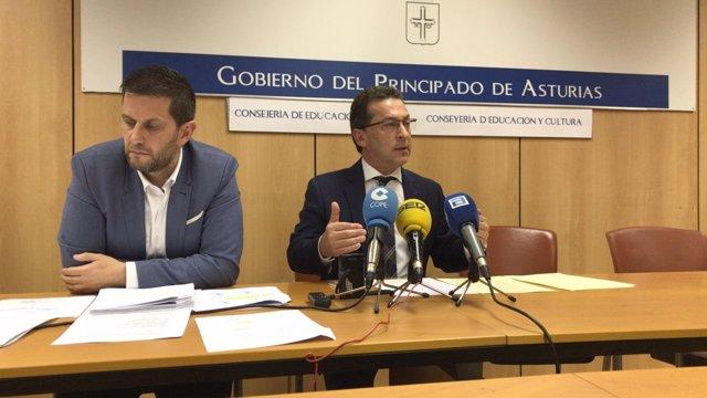 Roberto Suárez Malagón y Genaro Alonso