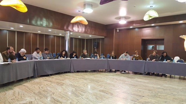 Reunión da coordinadora de Anova