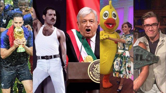 Las tendencias de google 2018 en México