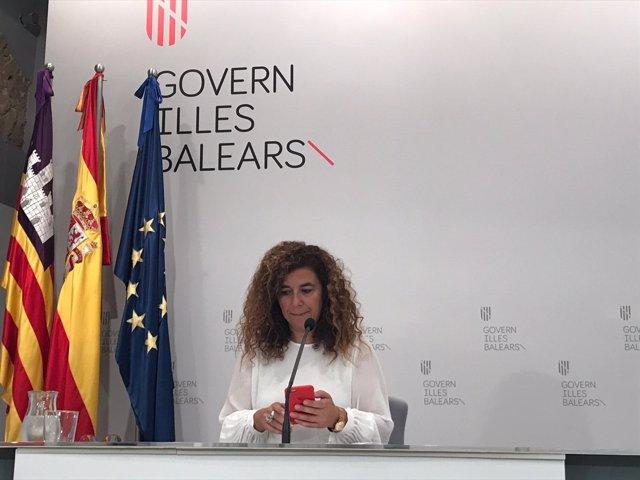 Portavoz Govern balear, Pilar Costa