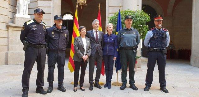 Marlaska agradece el trabajo policial durante el Consejo de Ministros