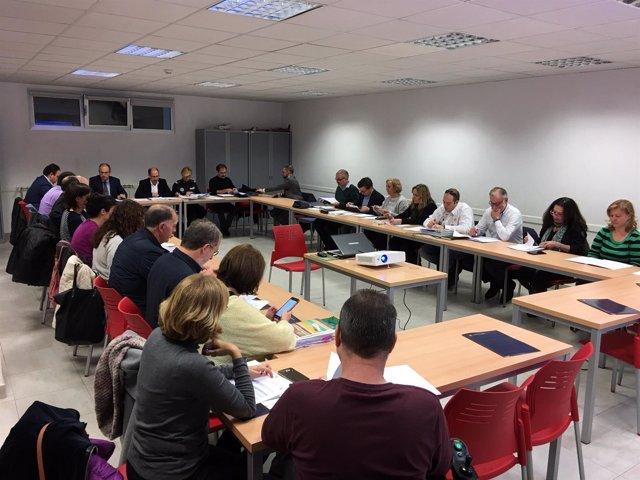 Reunión de la mesa de la seguridad vial. 21-12-18