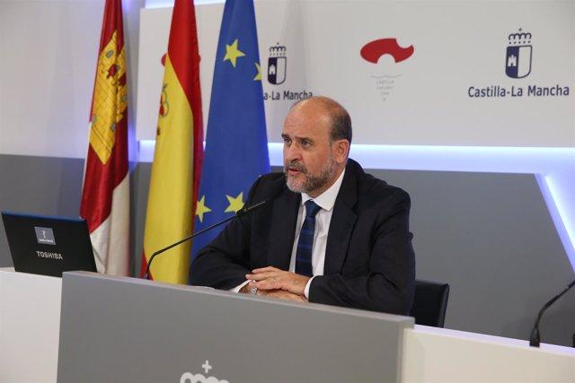 Martínez Guijarro en rueda de prensa