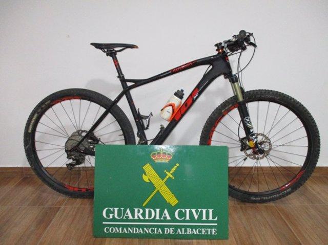 Bicicleta recuperada en Albacete