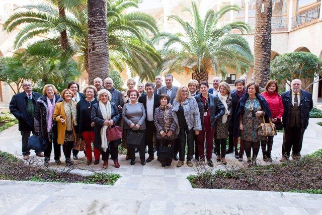 Reconocimiento a los trabajadores de Diputación de Jaén jubilados en 2018.