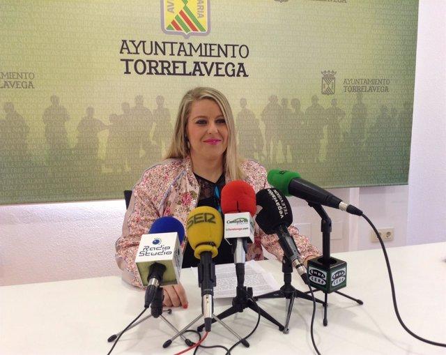 Cristina García Viñas, concejal de Cultura de Torreavega