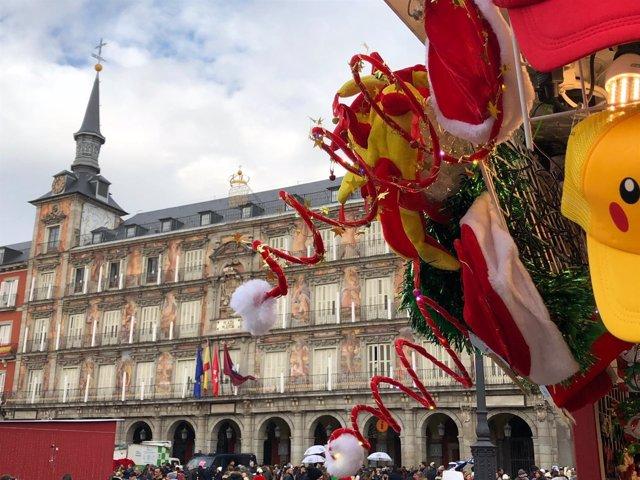 Plaza Mayor de Madrid, Navidad, Navidades