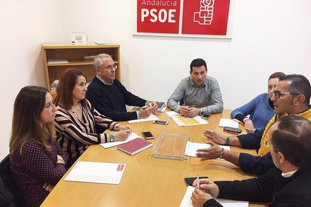 El PSOE de Huelva se reúne con vocales territoriales.