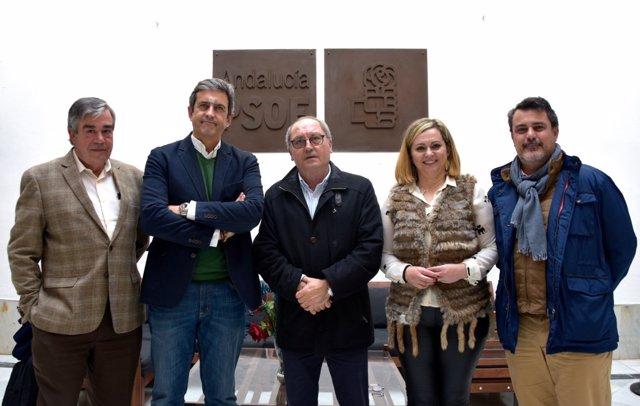 Reunión del PSOE-A con el sector de la caza