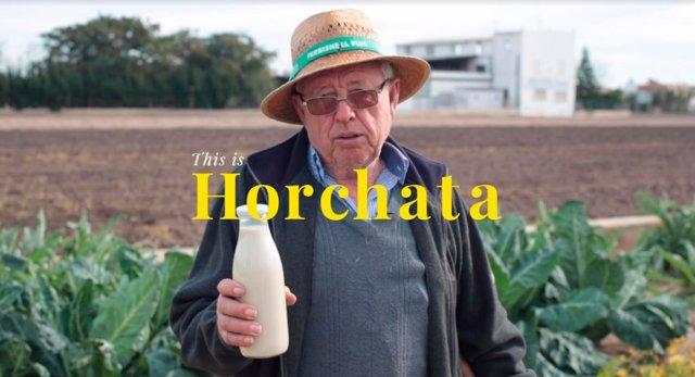 Imagen de la campaña 'This is horchata'