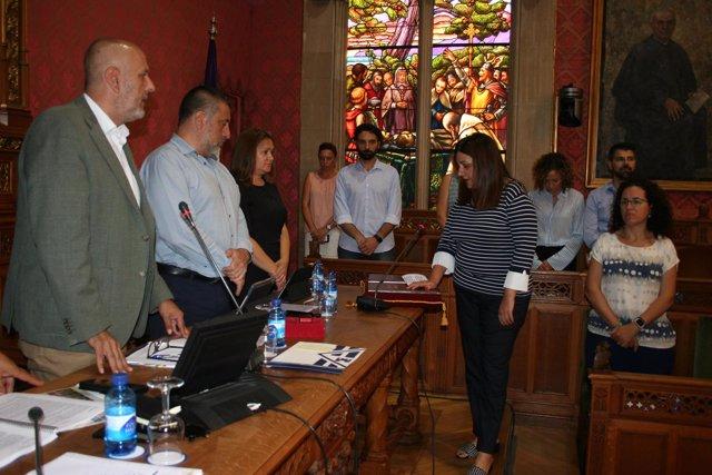 Crisitna Fiol, Cs, toma posesión en el Consell de Mallorca