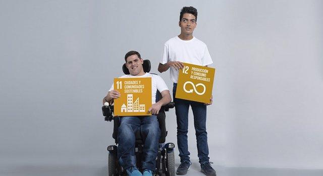 Calendario de la campaña 'Yo también apoyo los ODS'