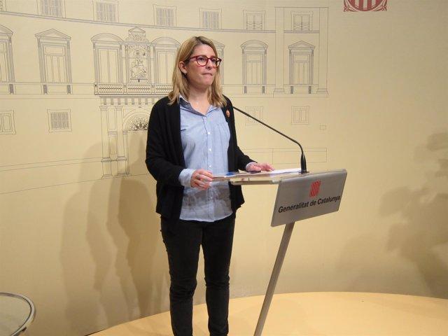 La consellera del Govern Elsa Artadi