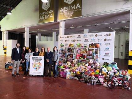 La Fundación Asima recoge más de 6,5 toneladas de alimentos y más de 1.000 juguetes para seis ONG de Mallorca