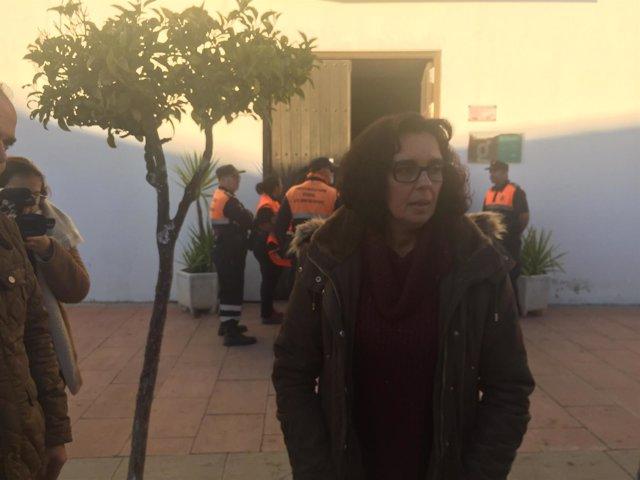 La alcaldesa de El Campillo, Susana Rivas.