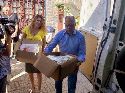 Retiran una tonelada de bolsas de plástico en La Gomera