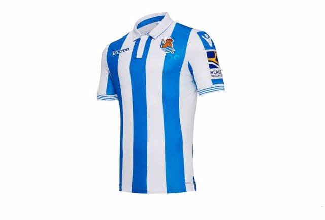 Camiseta oficial de la Real Sociedad