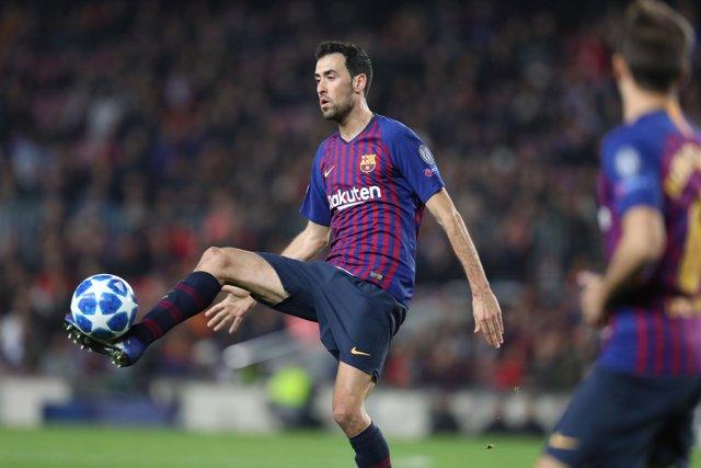 FOOTBALL - UEFA CHAMPIONS LEAGUE - FC BARCELONA v TOTTENHAM HOTSPUR