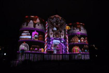 La Puerta de Bisagra de Toledo acoge la luz y el sonido del espectáculo 'Toledo tiene estrella'
